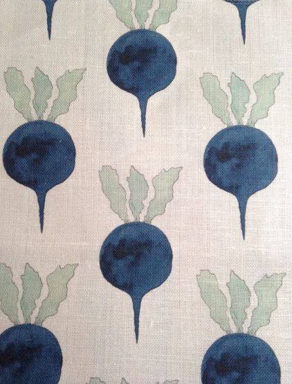 Radish by Radish Moon in Indigo