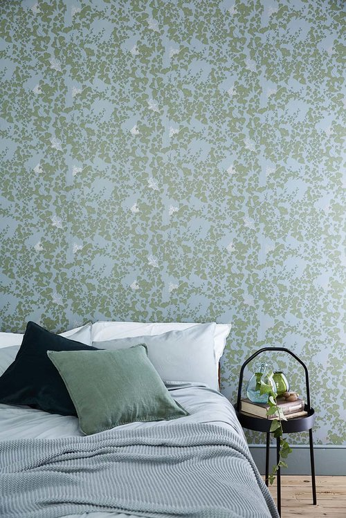 Wallpaper and Fabric design by Abigail Edwards photographed by Alun Callender